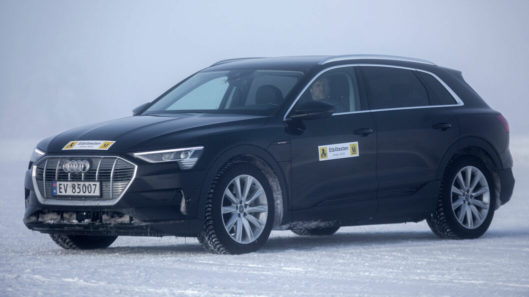 POPULÆR: Audi e-tron Quattro 55 lader bedre enn de fleste. Foto: Tomm W. Christiansen