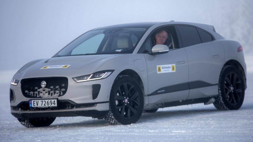 GODT SALG: Med I-Pace har eksklusive Jaguar fått fart på salget i Norge. Foto: Tomm W. Christiansen