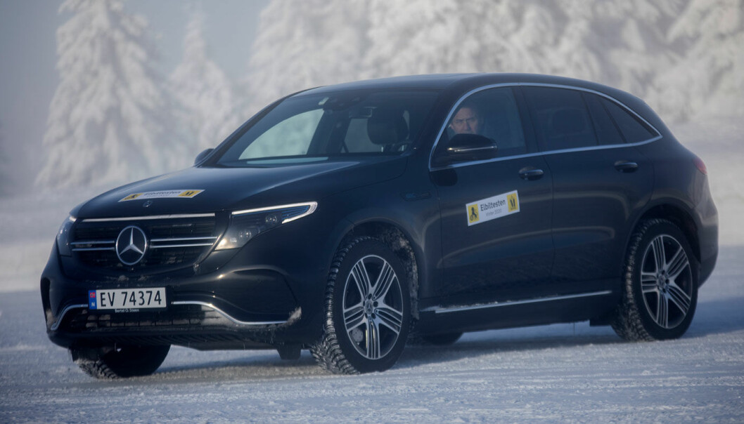 Mercedes-Benz EQC: Komfortabel for kort