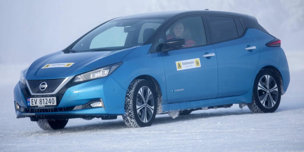 Nissan Leaf 62 kWt: Mer aktuell, men ikke effektiv nok