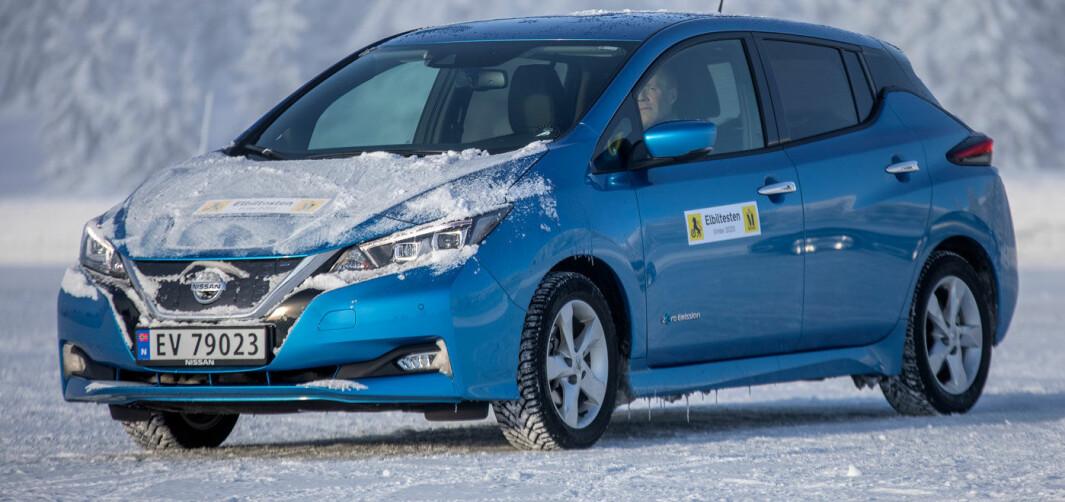 Nissan Leaf 40 kWt: Pionéren kommer til kort