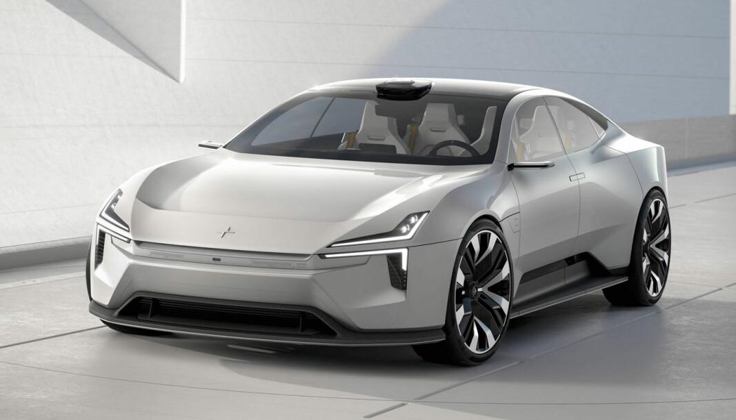 MINDRE VOLVO-AKTIG: Helt slik blir nok ikke den kommende modellen, men konseptbilen Precept gir noen hint.