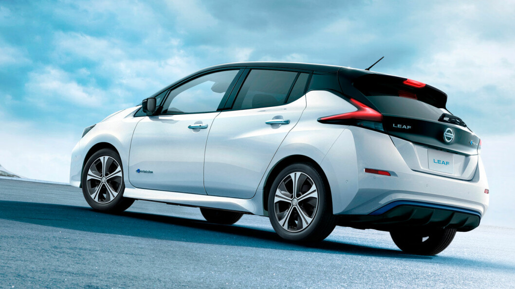 RETT OVER NYTTÅR: Nye elektriske Leaf kommer til Norge i januar/februar, og Nissan kan levere mange biler fra første dag. Foto: Nissan