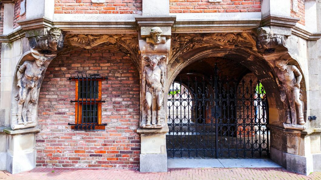 DJEVELHUSET: Arnhem fikk bystatus i 1233.Dokumentet oppbevares i Duivelshuis som nå er del av rådhuset.