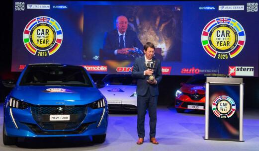 Peugeot 208 er årets bil i Europa