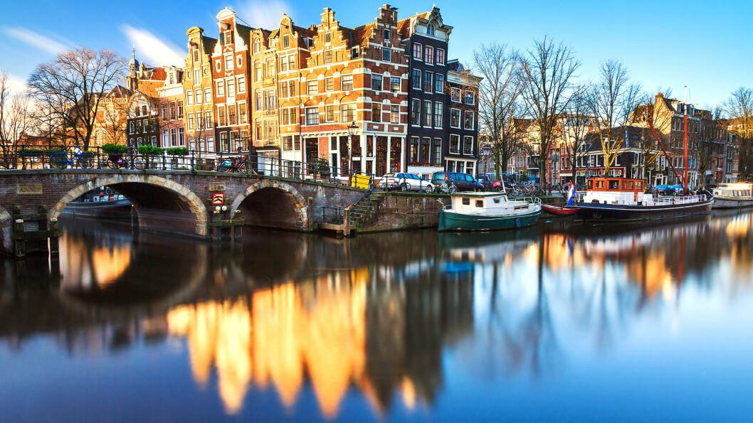 VERDENSARVEN: Kanalene i Amsterdam står på UNESCOs liste.