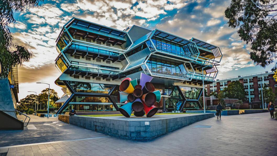 FORSKERBASE: Monash-universitetet i Melbourne.