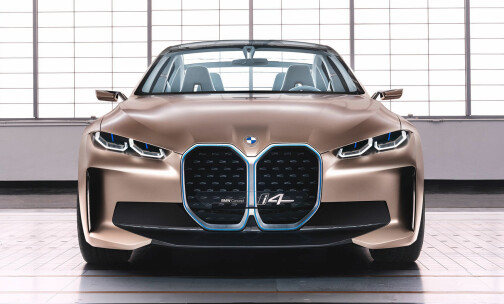 BMW lanserer ny elbil på onsdag