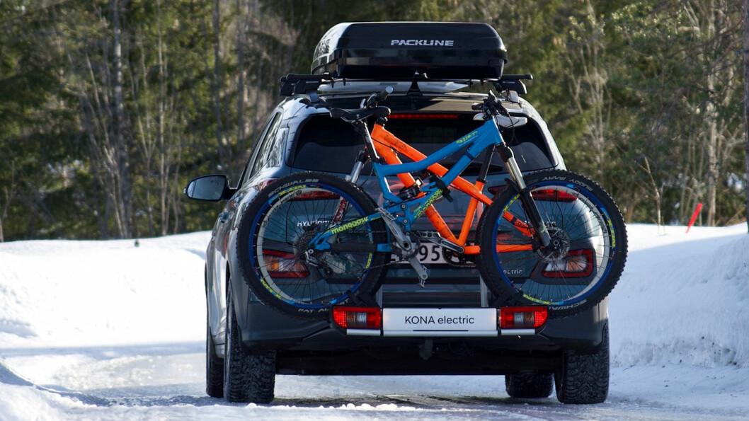 POPULÆRT: Skandinaver har en forkjærlighet for å laste ting bakpå bilen. Det har Hyundai nå tatt konsekvensen av. Foto: Hyundai