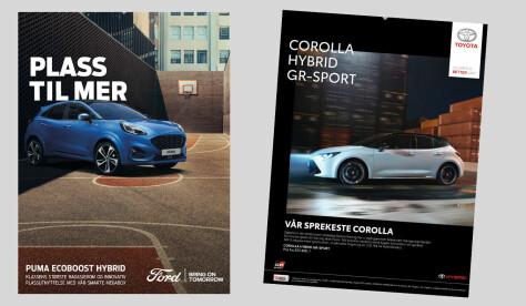 Vil forby reklame for fossilbiler