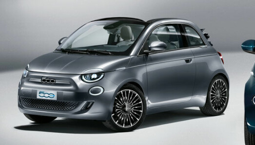 <b>FIAT 500.</b> Helelektrisk.