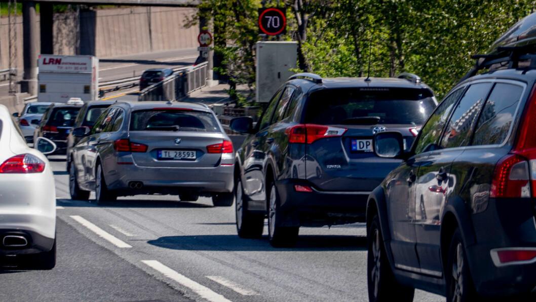 LANGT OVER: Tall fra Jato Dynamics viser at gjennomsnittlige CO2-utslipp fra nye solgte biler i Europa i 2019 økte for tredje år på rad. Foto: Geir Olsen