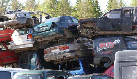 I fjor forsvant 138.203 biler fra norske veier