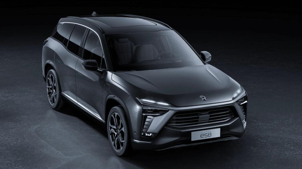 SLITER: Kinesiske Nio lager attraktive helelektriske biler, blant annet SUV-en ES8. Men problemene på hjemmemarkedet kan i verste fall legge selskapet dødt. Foto: NIO