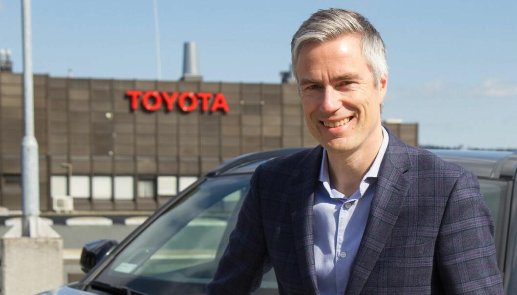 SVARER: Espen Olsen, informasjonssjef i Toyota Norge.