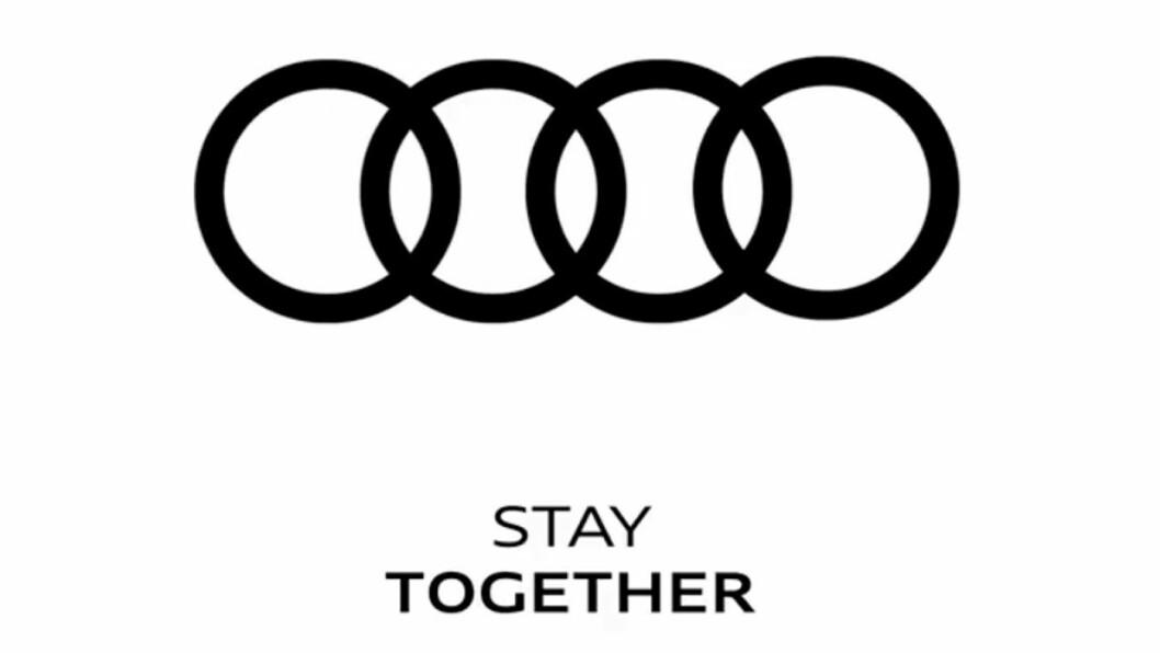 TRADISJON: De fire ringene som utgjør Audis logo.