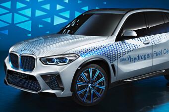 Hydrogen-versjon av X5 vil være klar i 2022