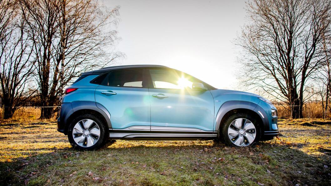 PRISBYKS: Hyundai øker prisen på sin populære elbil Kona Electric med hele 45.000 kroner. Foto: Tomm W. Christiansen