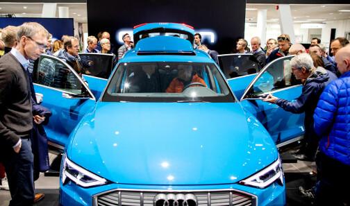 Audi e-tron er den nye folkevogna