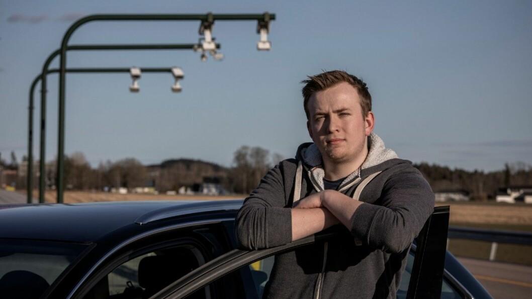 FORTVILER: Fjellinjen har sendt Marcus Jøsang Møller regninger på til sammen 7300 kroner for bompasseringer han ikke har foretatt. Foto: Tomm W. Christiansen