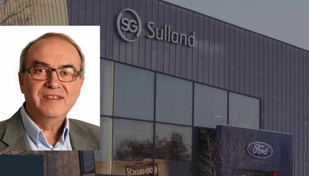 BEKYMRET: Bilforhandler-nestor Arvid Sulland tror det kan bli en stor økning i direkteimport av biler kjøpt til redusert pris i land som Tyskland og Frankrike.