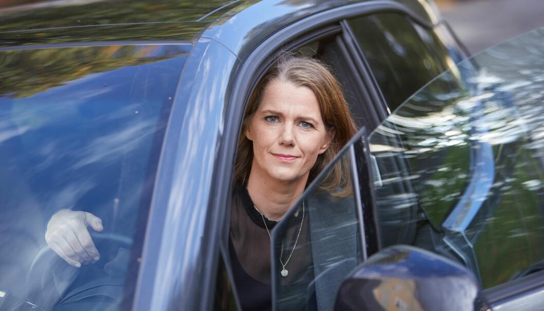 LEASINGKRAV: NAF krever lavere rente på leasing etter at Volkswagen Møller Bilfinans ikke kutter leasingrenten. – Vi forstår at kundene reagerer, sier kommunikasjonssjef Camilla Ryste. Foto: NAF