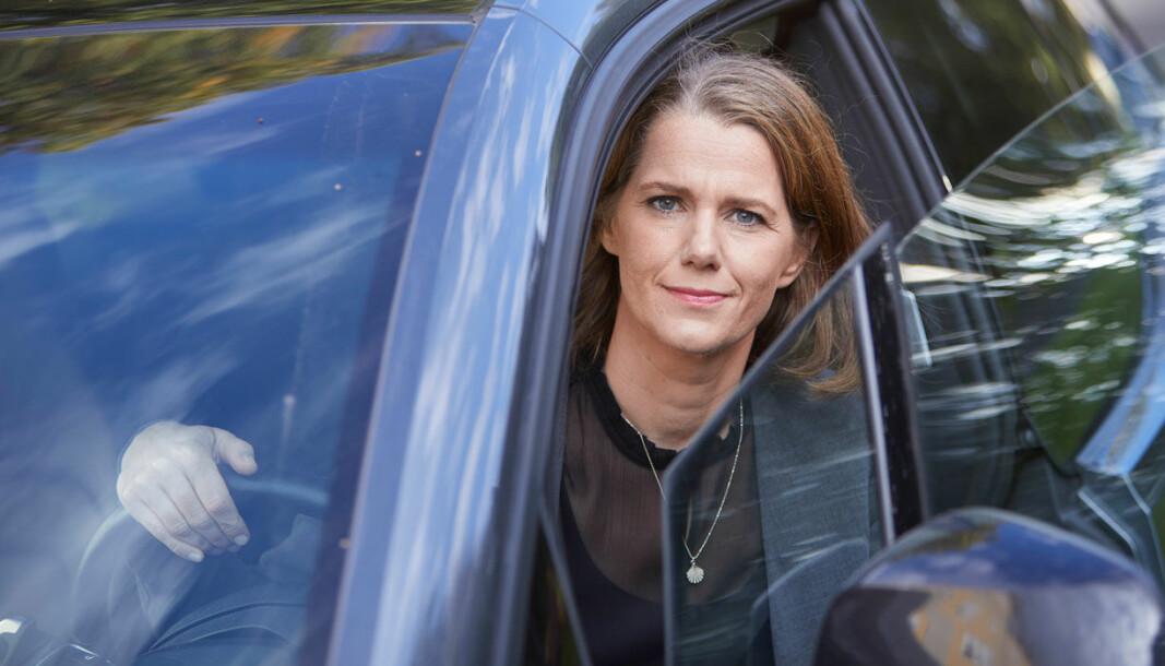 ADVARER: – Et forbud mot bensin- og dieselbiler vil åpne for massive kjøpsavgifter på elbilen, sier Camilla Ryste i NAF.