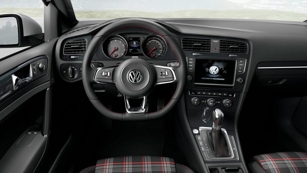 2013-MODELL: VW Golf GTI.