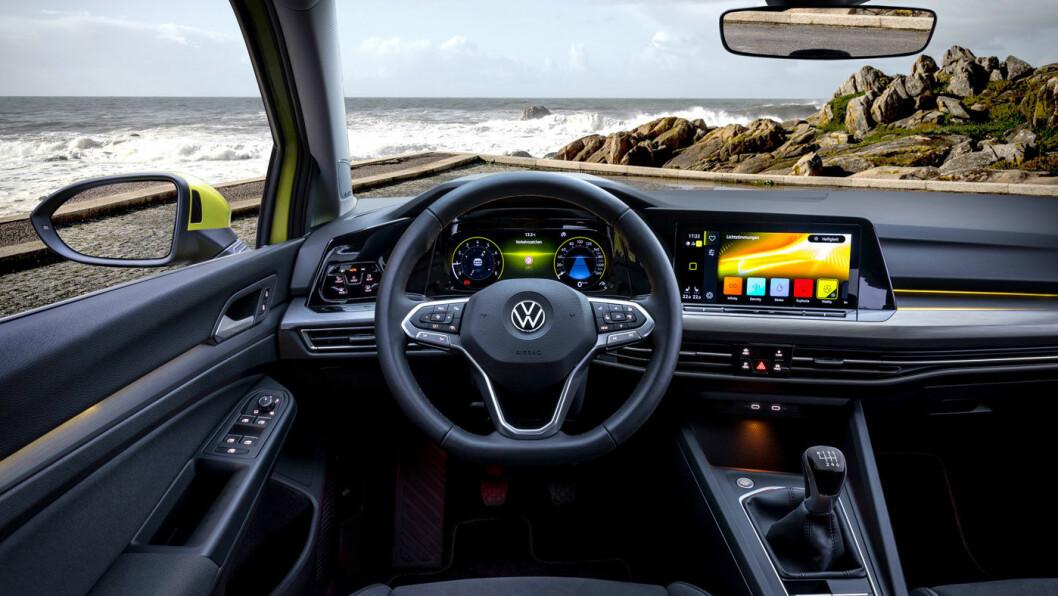 2020-MODELL: VW Golf (åttende generasjon).