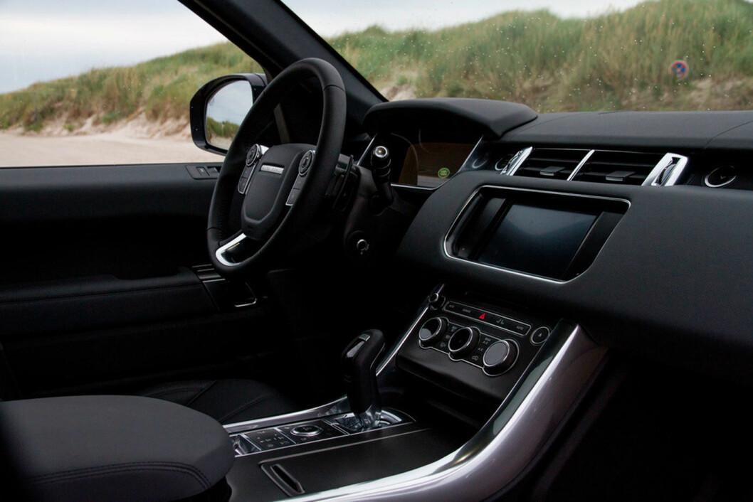 2013-MODELL: Range Rover Sport.