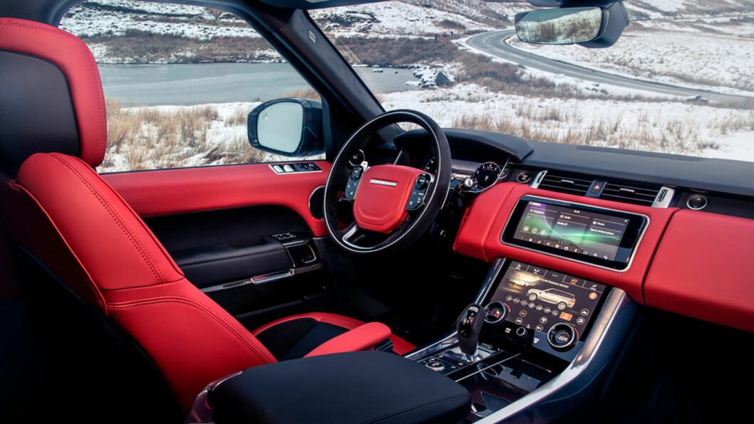 2020-MODELL: Range Rover Sport 2020.
