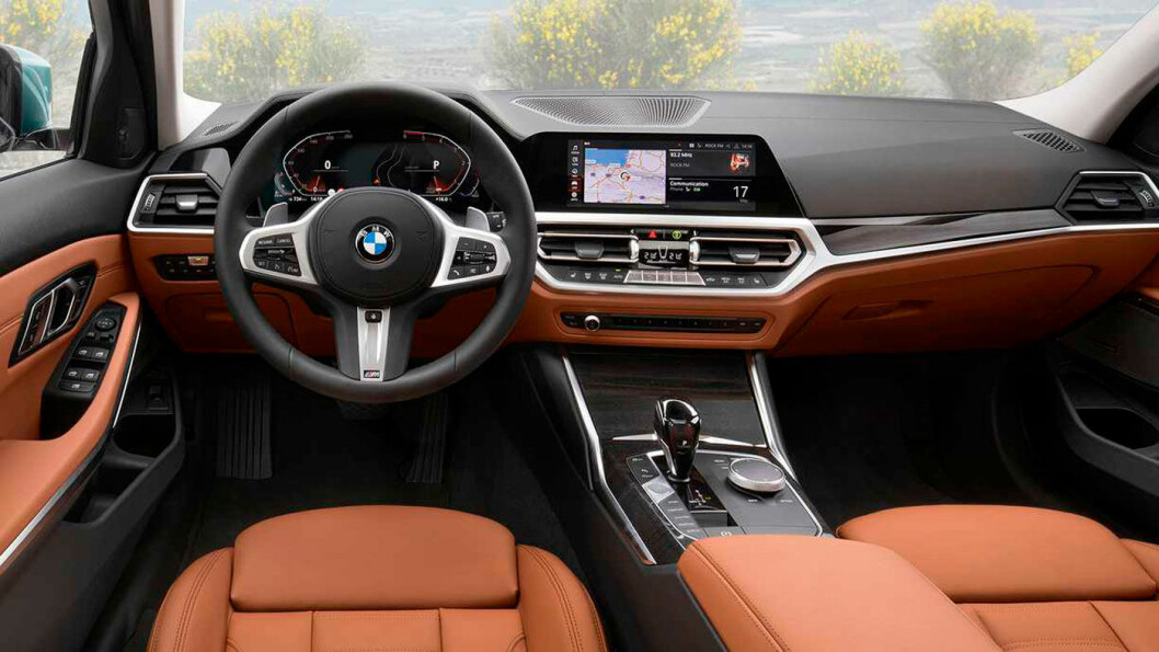 2020-MODELL: BMW 3-serie Touring.