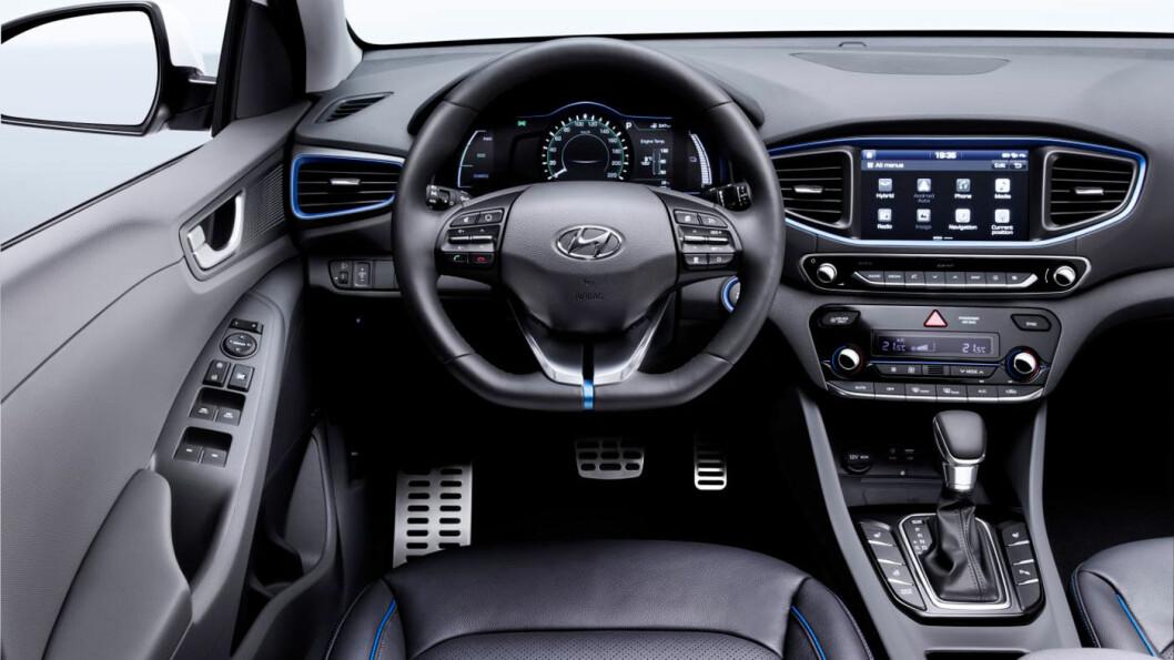 2016-MODELL: Hyundai Ioniq.