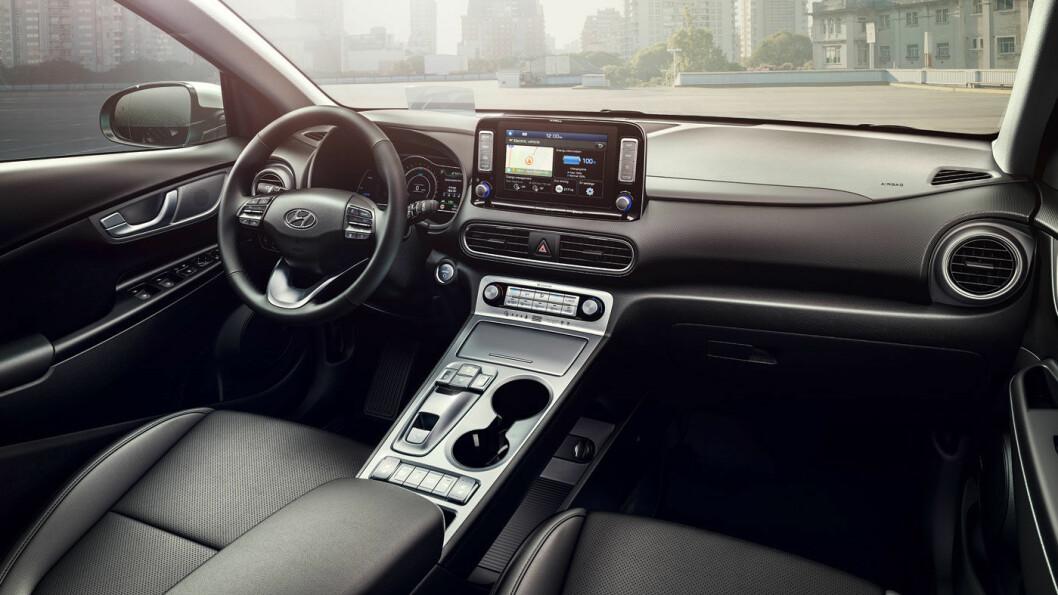 2020-MODELL: Hyundai Kona Electric.
