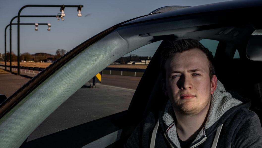 GJORDE FEIL: Marcus Jøsang Møller gjorde ikke akkurat slik Fjellinjen krever da han solgte bilen sin. Nå havner saken hans på bordet til samferdselsministeren. Foto: Tomm W. Christiansen