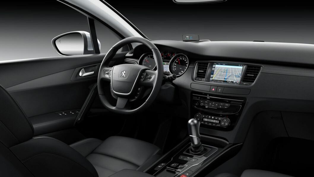 2014-MODELL: Peugeot 508.