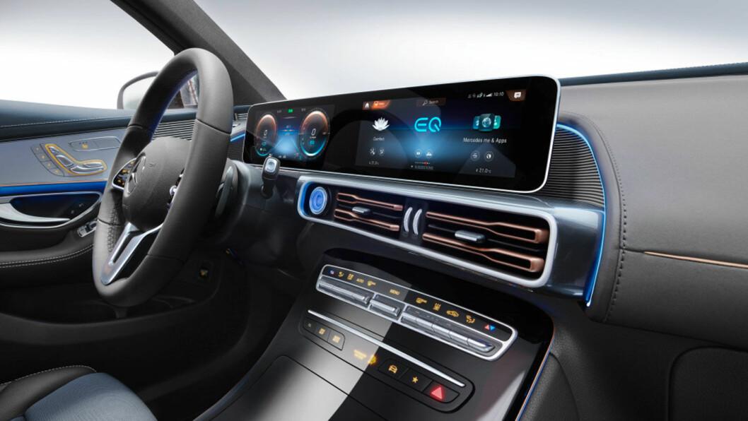 2020-MODELL: Mercedes-Benz EQC.