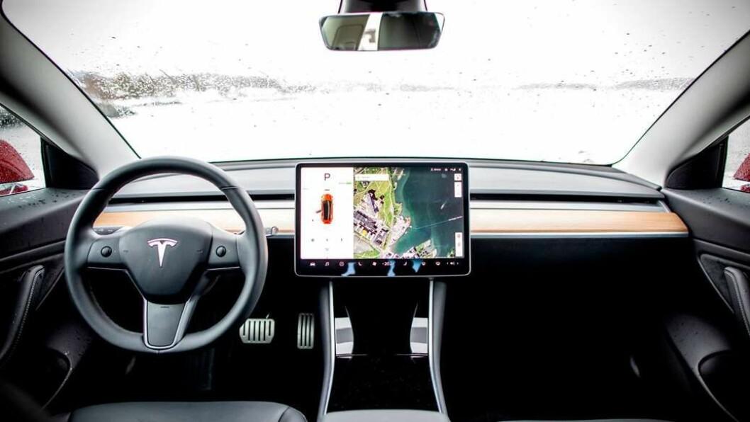 2019-MODELL: Tesla Model 3.