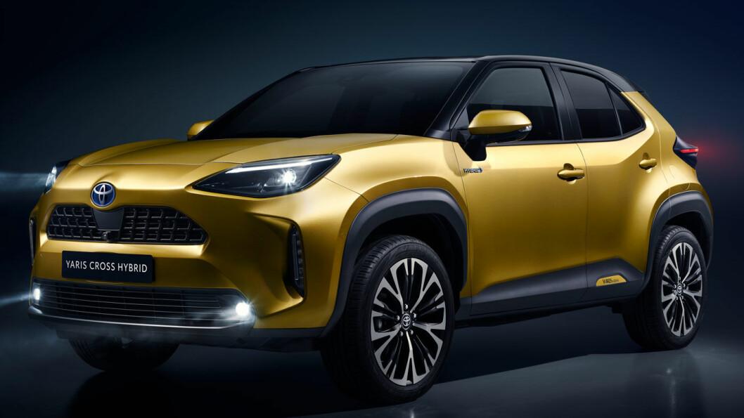 VARSLET SUKSESS: I et bilsegment i vekst utmerker Yaris Cross seg ved å tilby firehjulsdrift. Foto: Toyota