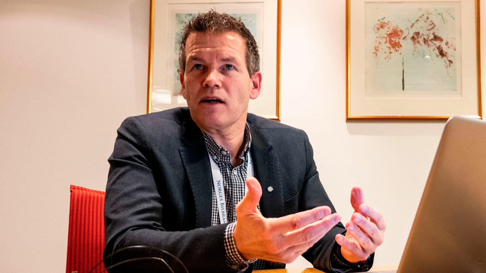 VIL HA BEVIS: –Å kjøpe en hvilken som helst innløst bil, det ville jeg aldri gjort! sier Tor Simonsen i Norges Bilbransjeforbund.