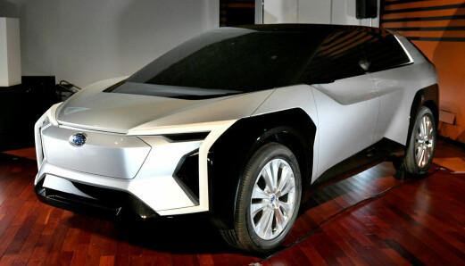 Subaru-fansen må vente lenge på den første elbilen