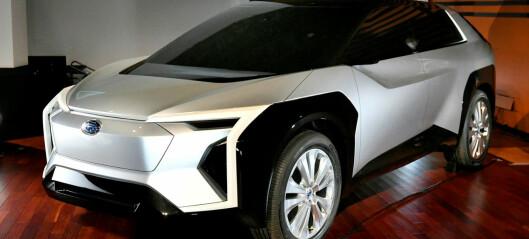 Helelektrisk Subaru-SUV under utvikling