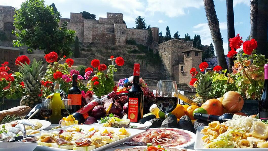 GOD MAT OG DRIKKE: Andalucia er kjent for god mat, ikke minst for tapas som består av en rekke småretter.