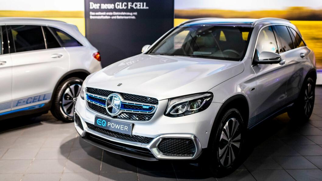 END OF STORY: Det så ut som et lovende eventyr da Mercedes lanserte sin GLC F-Cell på markedet i 2018. Nå er eventyret ute. Foto: Daimler