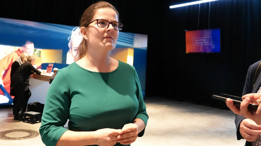 ELBIL-SATSING: Silke Bagschik er direktør for salg og marketing i Volkswagens e-mobilitetsdivisjon.