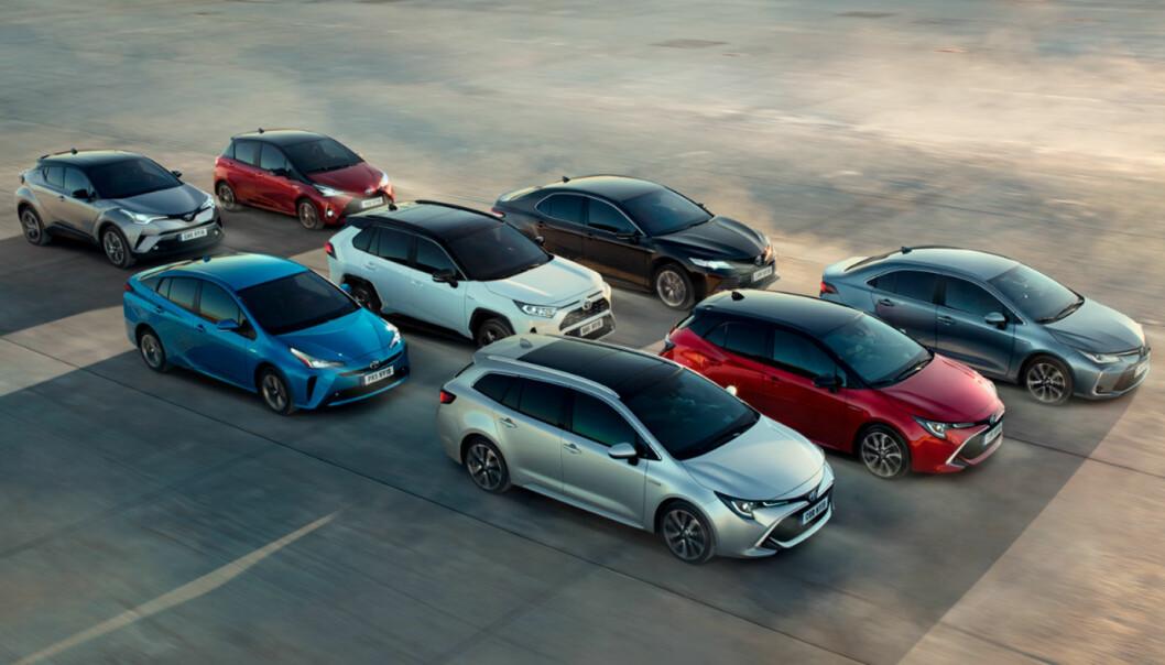 STORPRODUSENT: Toyota selger over 10 millioner biler i året, dermed blir det også store kvanta når en modell må tilbakekalles.