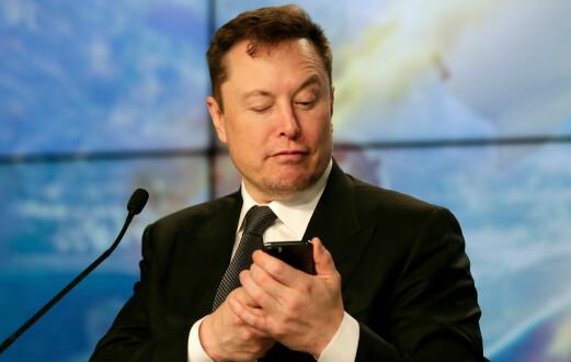 Nå er Tesla-sjefen verdens nest rikeste mann