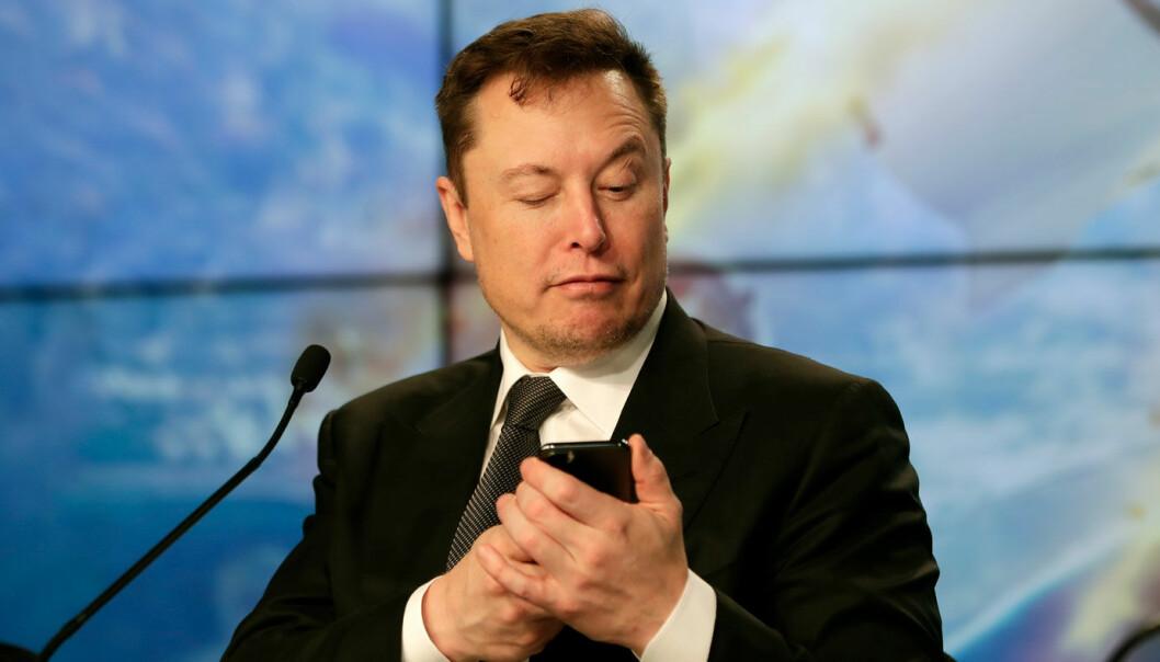 <b>LA FREM TALL</b>: Nye gode tall fra Tesla-sjef Elon Musk.