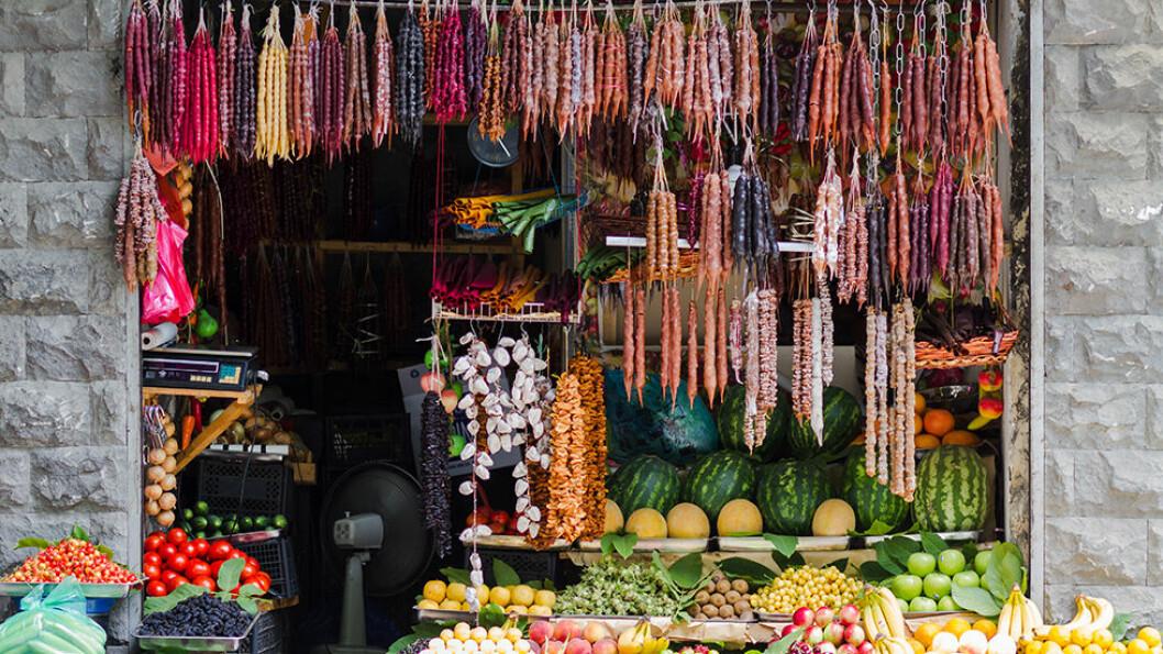 MATMEKKA: Georgia er ikke minst kjent for god mat og drikke. Foto: Shutterstock