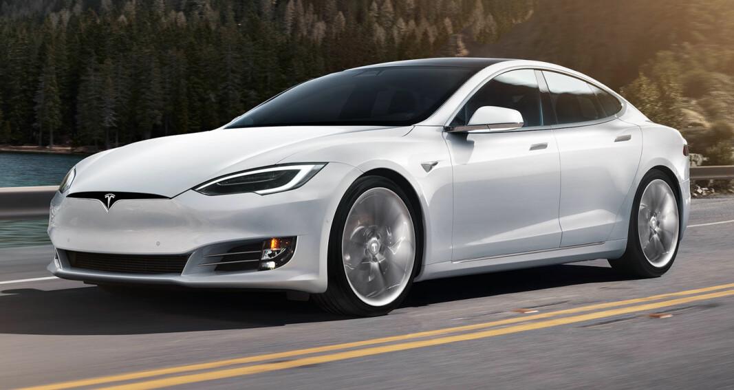 Tesla målt til 221 km/t i Bergen